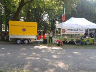 Evacuazione scuola Polesella